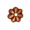 Bead Cap Petal 5mm Antique Copper